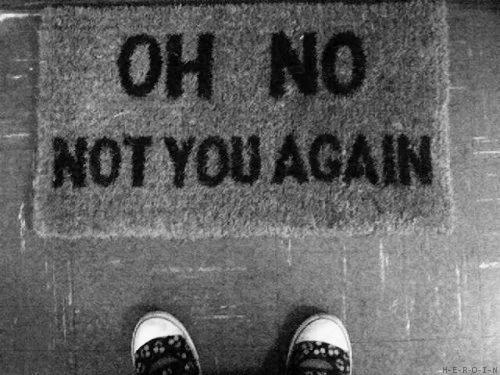 Autors: SerenaBlair Never say never again