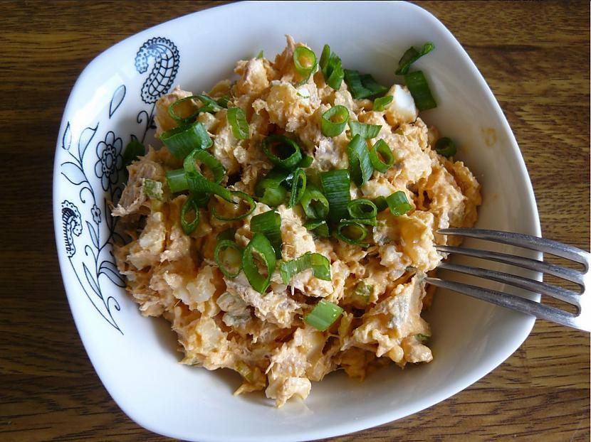 nbspTuņča salātivārīti... Autors: 69 Dažādi salātiņi...