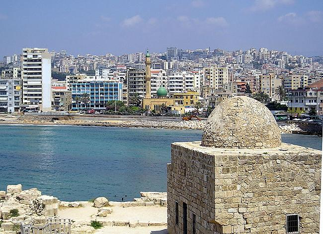 SidonaPilsēta Libānā Sidona... Autors: Dusmīgs Bebrs TOP10 vecākās pastāvīgi apdzīvotās pilsētas pasaulē