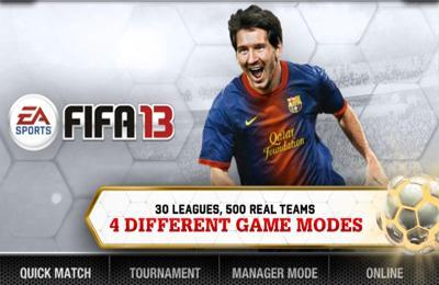 FIFA13 Scaronī futbola spēle... Autors: Kļuška Iphone Spēles