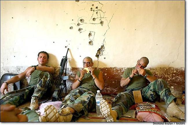 Autors: bigbadvoodoo Spēcīgas fotogrāfijas no Irākas.