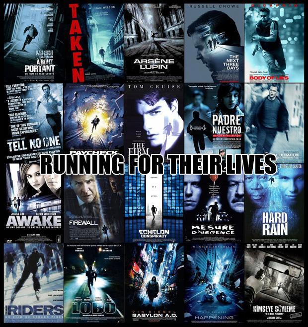 Galvenie varoņi skrien tā it... Autors: zlovegood Kā uztaisīt labu filmas plakātu?