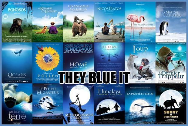 Vienkārscaroni zils plakāts Ar... Autors: zlovegood Kā uztaisīt labu filmas plakātu?