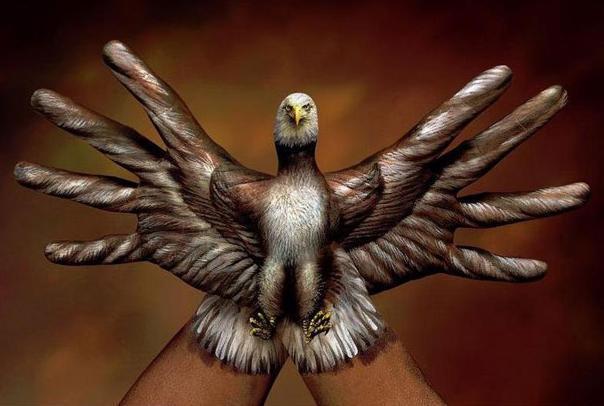 Autors: monta28 rokas pārtop par dzīvnieku