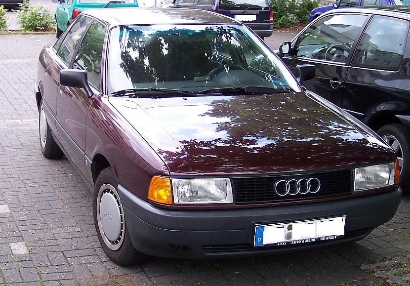 Audi 80 B3 skatos no... Autors: twitter15 Audi 80 B3