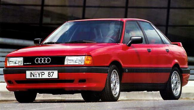Audi 80 B3 20 DOHC Quattro ar... Autors: twitter15 Audi 80 B3