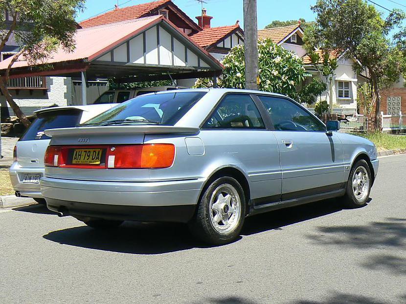 Audi Coupe B3 aizmugures un... Autors: twitter15 Audi Coupe