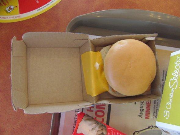 No burgera zibēdzis siers Autors: Fosilija Ātro ēstuvju misēkļi