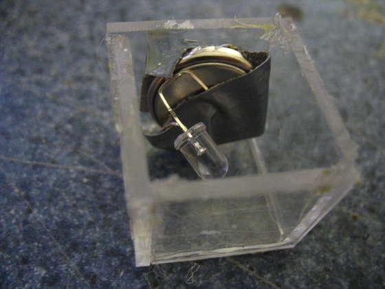 Pascaronu elektronisko daļu... Autors: The Next Tech Fantastisks gaismas kuba darinājums.