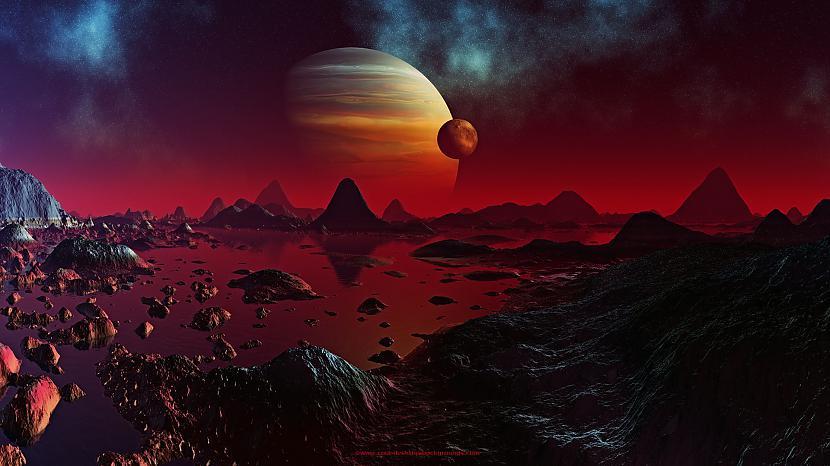 Nr 4  PlanētasLai cik dīvaini... Autors: Ben4iks 10 dīvainākās lietas Visumā