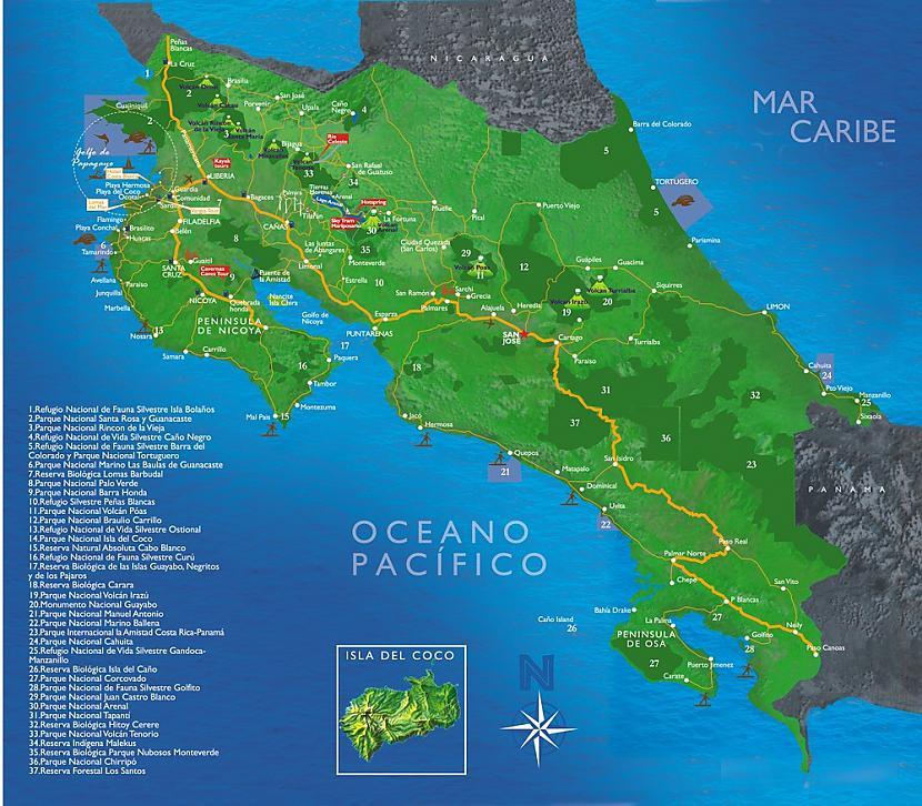 Kostarika  valsts Latīņamerikā... Autors: Moonwalker 20 šokējoši fakti (2. daļa)