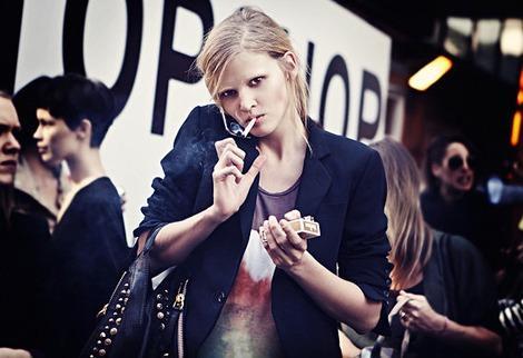 Lara Stone Autors: meancookie Modeles, kas smēķē
