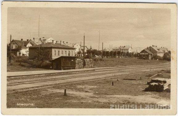 Madonas stacija Autors: nikloss Dzelzceļš Madona - Lubāna