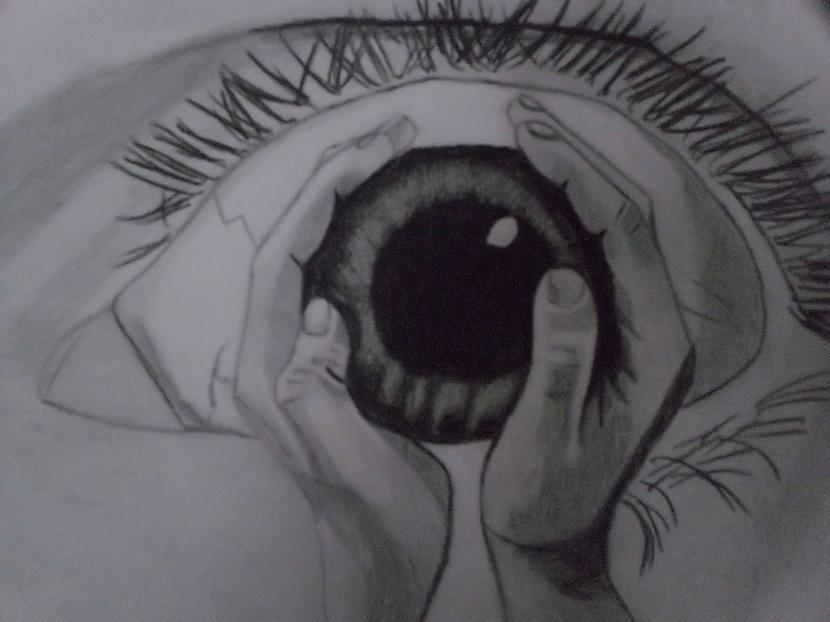 Acs ilūzija Autors: Edgarsnr1 Oriģināli zīmējumi