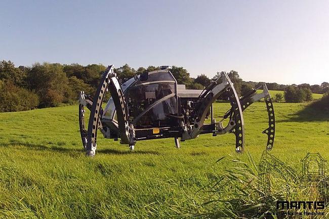 Robota svars ir 1900 kg tas ir... Autors: janex1 Seškājainais visurgājējs
