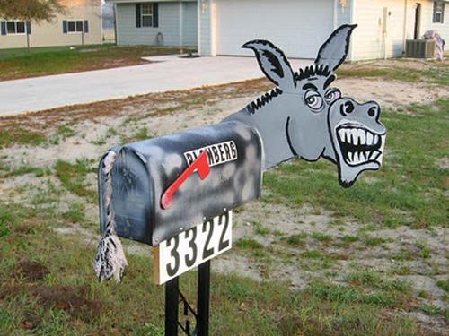 Autors: rabbit102 25  jocīgas pastkastes :D