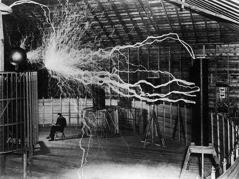 nbspBūtībā Teslas... Autors: Gugols Nikola Teslas tornis – Bezvadu elektrība