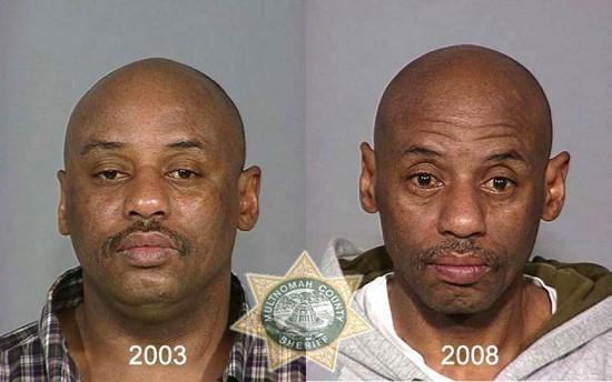 Autors: Fosilija Metamfetamīna lietotāji. Pirms un pēc.