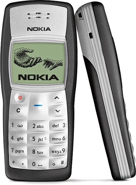 Nokia 1100 izlaists 2003 gadā... Autors: Fosilija Top 20 pārdotākie telefoni pasaulē.