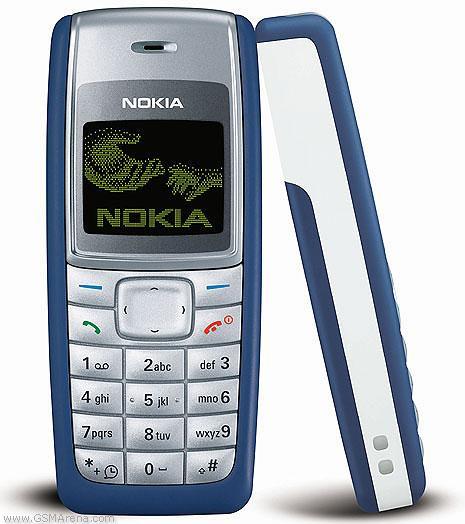 Nokia 1110 izlaists 2005 gadā... Autors: Fosilija Top 20 pārdotākie telefoni pasaulē.