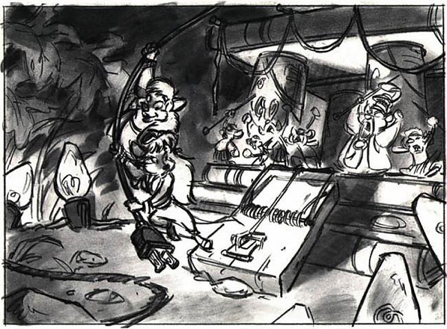 Chip and Dale 1989 gads Autors: zhagata13 Multeņu varoņi mākslinieku skicēs