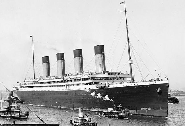 Royal Mail Ship Olympic bija... Autors: Werkis2 Titānika māsas kuģis Olimpija.