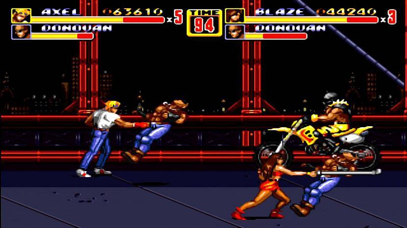 Streets Of Rage IIOtra mana... Autors: Werkis2 Manas bērnības Sega Mega Drive 2 spēlītes un interesantas atmiņas.