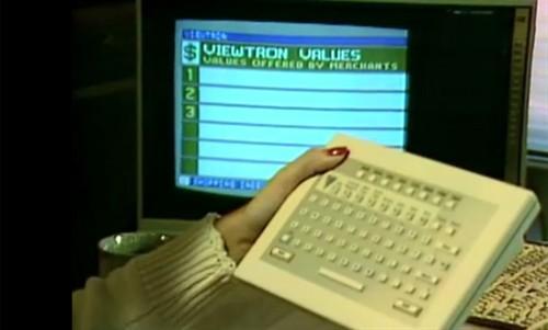 Viewtron sistēmai bija 20 000... Autors: Werkis2 Viewtron 1983 - Internets  pirms Interneta.