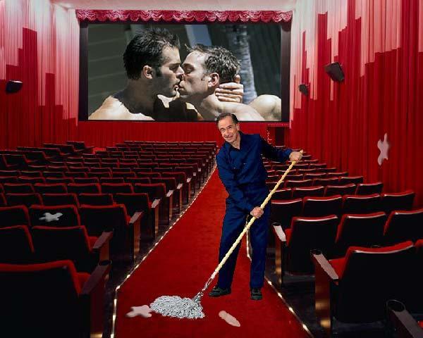 Apkopējs porno... Autors: Raacens Kā ir būt apkopējam porno teātrī?