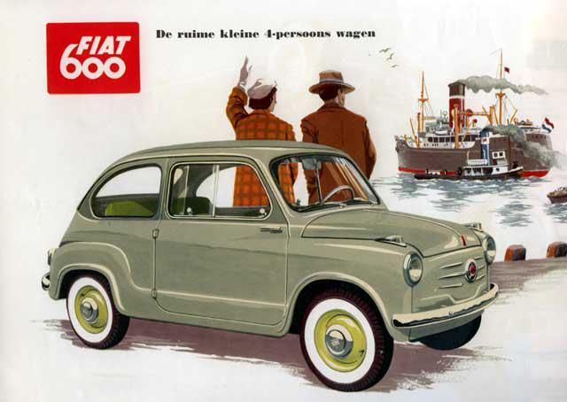 8 Fiat600Savukārt... Autors: 444 10 automobiļu pasaules leģendas