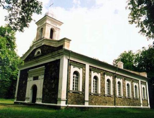 Alkiscaronķu baznīca Te esmu... Autors: rasiks Lietuvas latvieši (2)