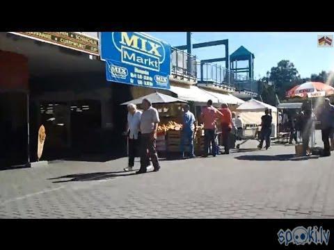 """Autors: Fosilija Latvijas produkti Berlīnes krievu veikalā """"Mix Market"""""""