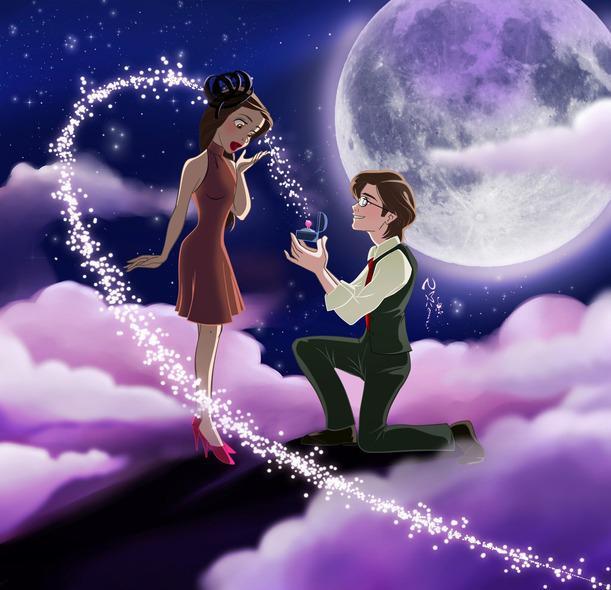 Tagad jautājums kur un kā... Autors: Mēnestiņš Kļūsi par manu sievu?