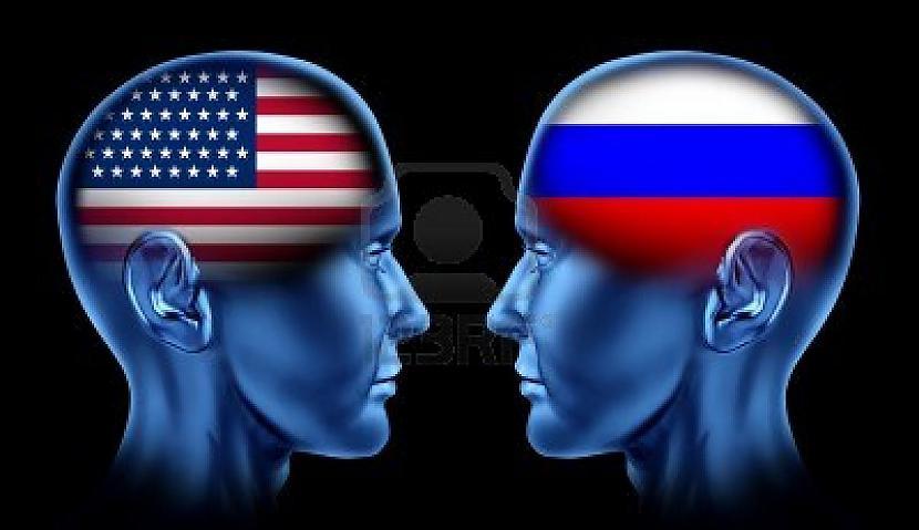 Rietumi un Krievija jau sen ir... Autors: Savādākas ziņas Ļaunā ASV : Labā Krievija