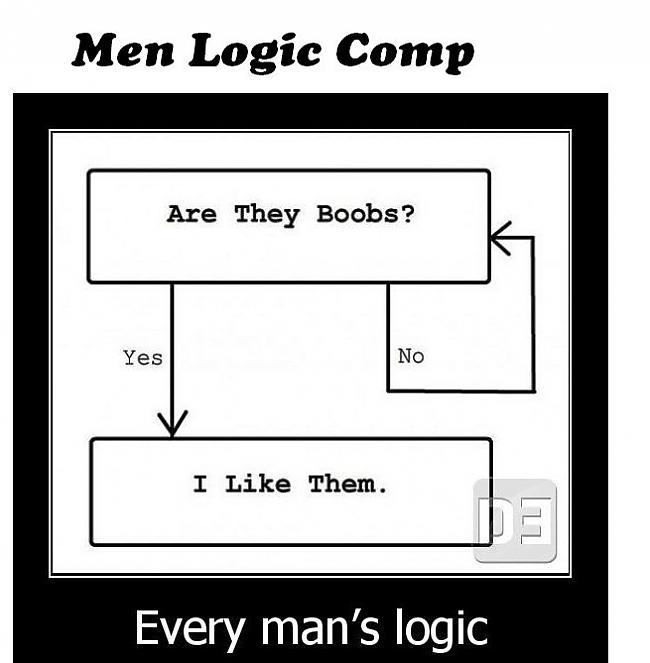 Autors: hagisons112 Vīriešu loģika...