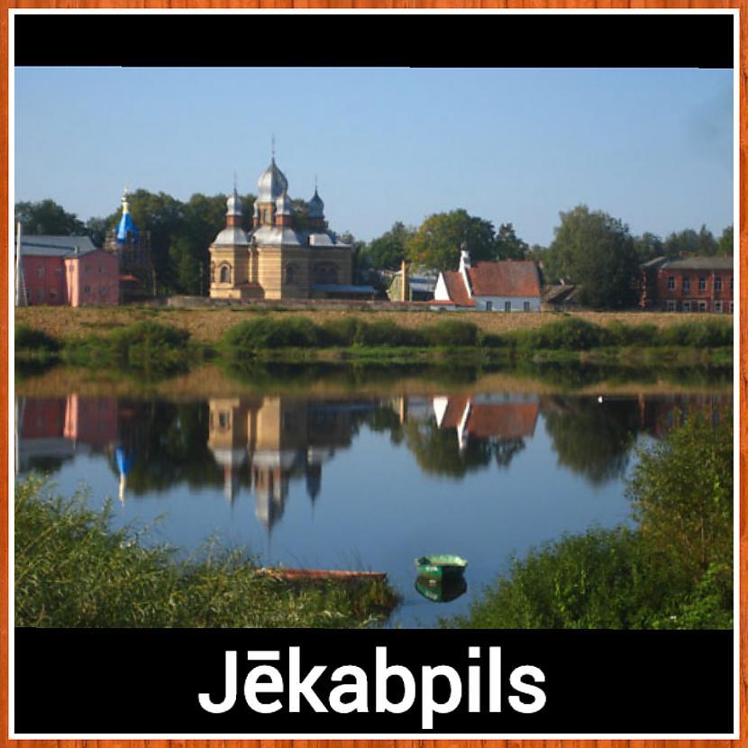 Jēkabpils  Iedzīvotāju skaits... Autors: ghost07 8 Skaistāko Latvijas pilsētu panorāmas