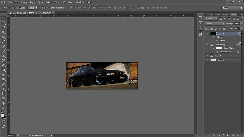 Izveidosim rāmīti Es parasti... Autors: UsernameTaked Photoshop pamācība: Viegla signature no HD kvalitātes wallpaper'a