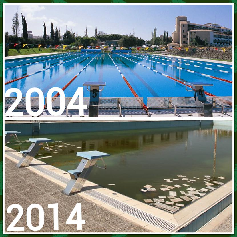 Olimpiskā ciemata treniņu... Autors: ghost07 Kā izskatās Atēnu olimpiskie objekti pēc 10 gadiem?
