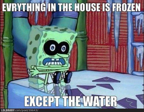 Mājā zem ūdens viss ir sasalis... Autors: skalvans F**k the logic.