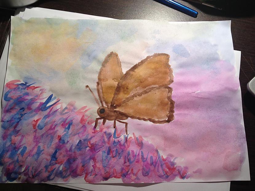 Te nu ir gatavs mans... Autors: DancuksijaD Mans zīmējums ar akvareļiem!