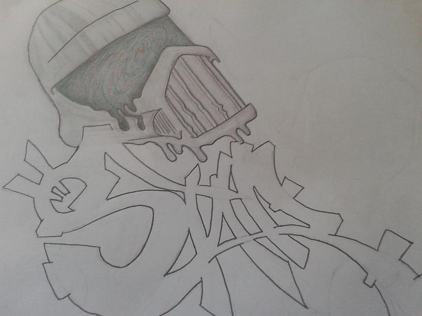 sāku 2010 ar graffitinbsptas... Autors: igonuts mani zīmējumi.