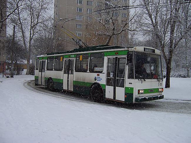 RAŽOScaronANASērijveida... Autors: Fosilija Trolejbuss Škoda 14Tr
