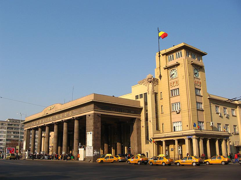 Bukareste Rumānija Autors: SinagogenBombardiren Dzelzceļa stacijas Eiropas galvaspilsētās