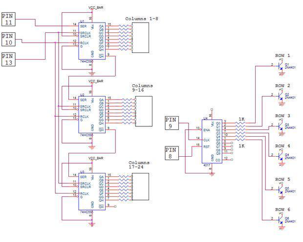 Darbības principsnbspLED... Autors: BL3NDeris DIY LED matrix
