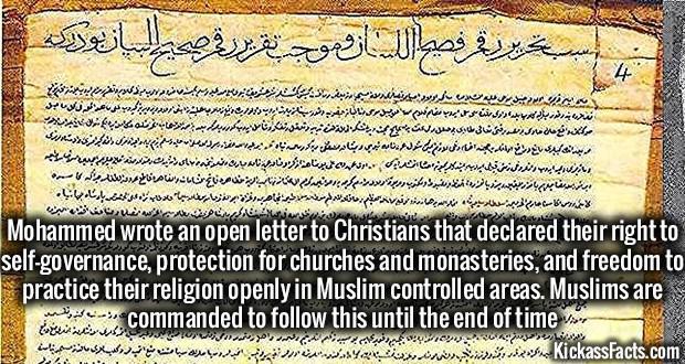 Muhameds rakstīja vēstuli... Autors: Šimpandze88 Daži interesanti fakti.