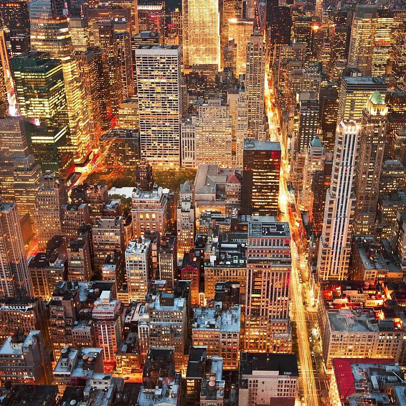 Nakts Ņujorkā ASV Autors: AdriansLV 10. skaistākās vietas uz planētas