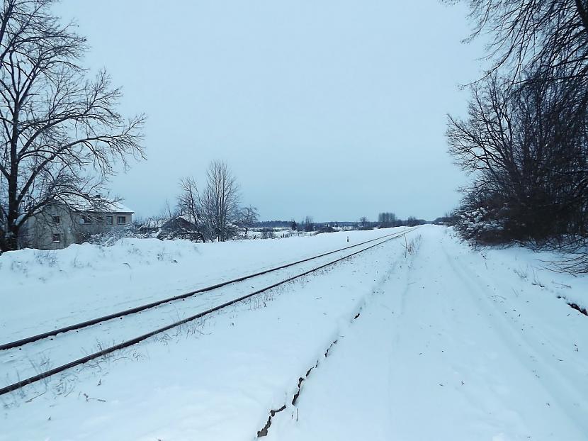 Punduru stacija Krievijas... Autors: Carloss Dzelzceļa stacijas un pieturas punkti līnijā Rītupe - Zemgale