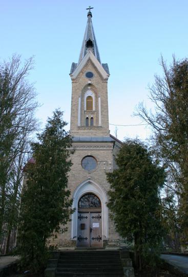 Ķemeru luterāņu baznīca... Autors: Nalto Ķemeru Sanatorija .