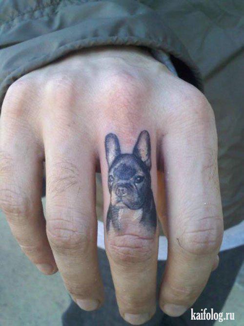 Autors: Hello Tēma,prikolīgs tetovējums.