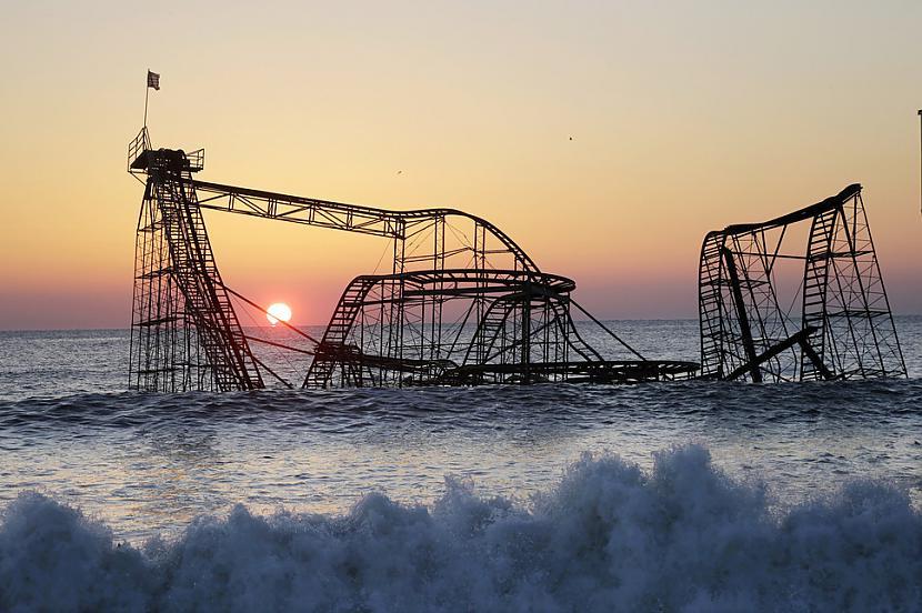 Seaside Heights ASV Autors: SinagogenBombardiren Pasaules interesantākās pamestās vietas